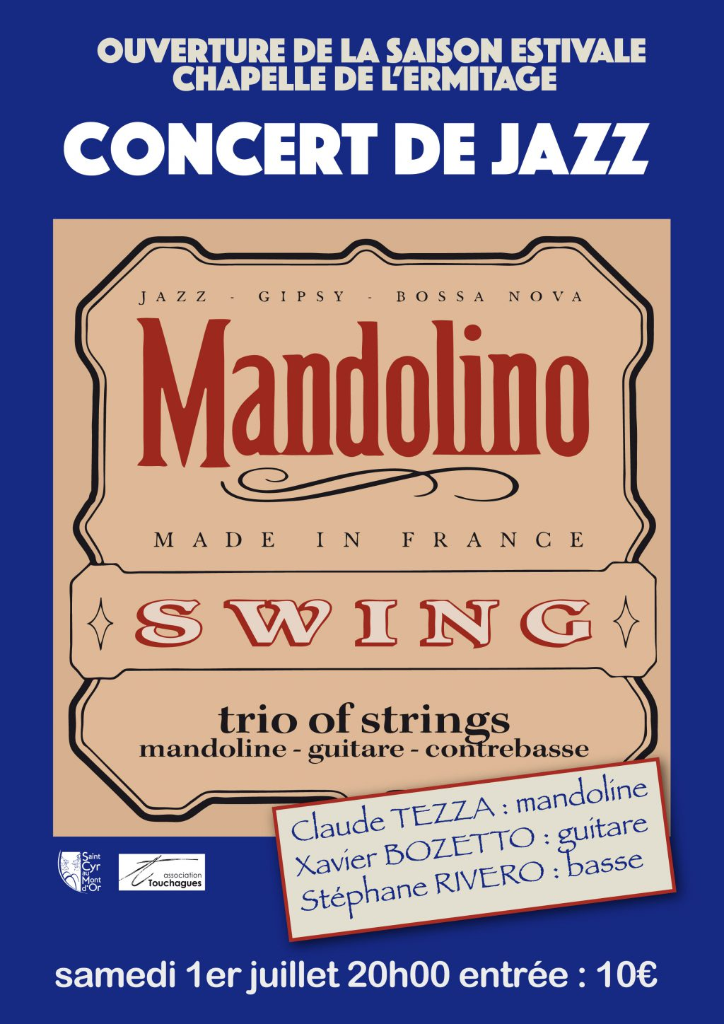 affiches Mandolino swing A4 web