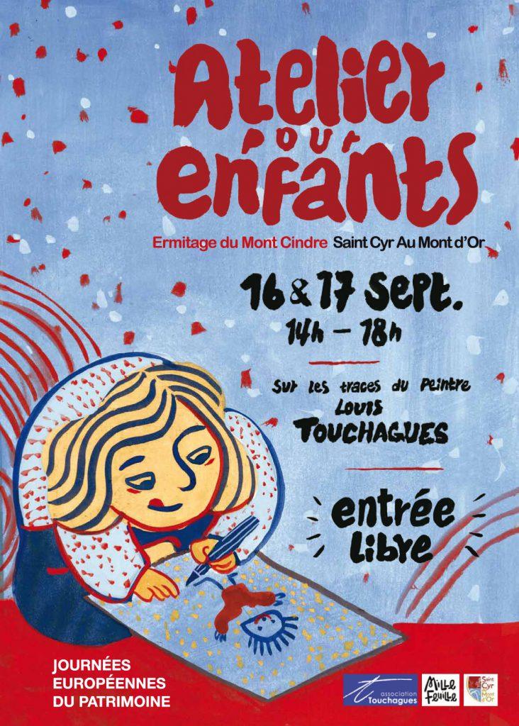 ateliers d'art pour enfants 2017 «Sur les traces du peintre Louis Touchagues»