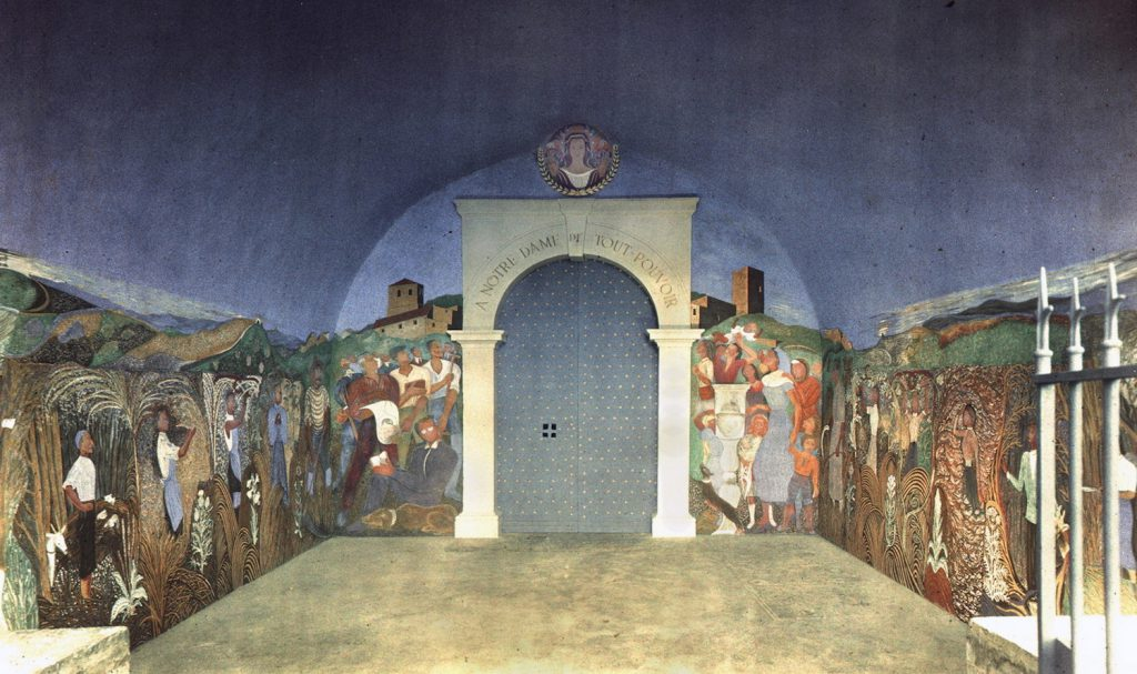 Découvrez les fresques de Louis Touchagues