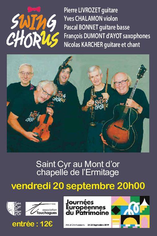 Concert à la chapelle de l'Ermitage du Mont Cindre
